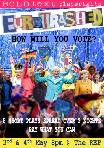 Eurotrashed Flyer Front