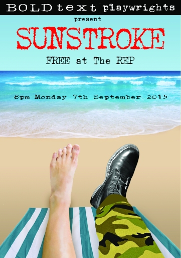 A5 Front of SUNSTROKE at the REP copy 2015