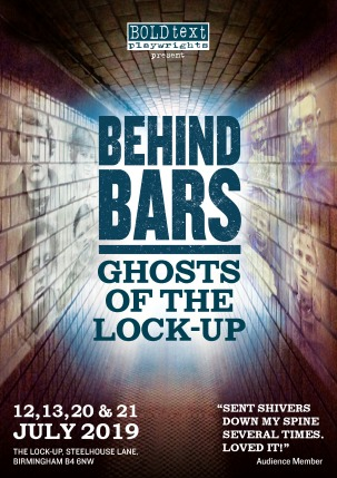 Behind Bars Ghosts of The Lock Up Leaflet FRONT