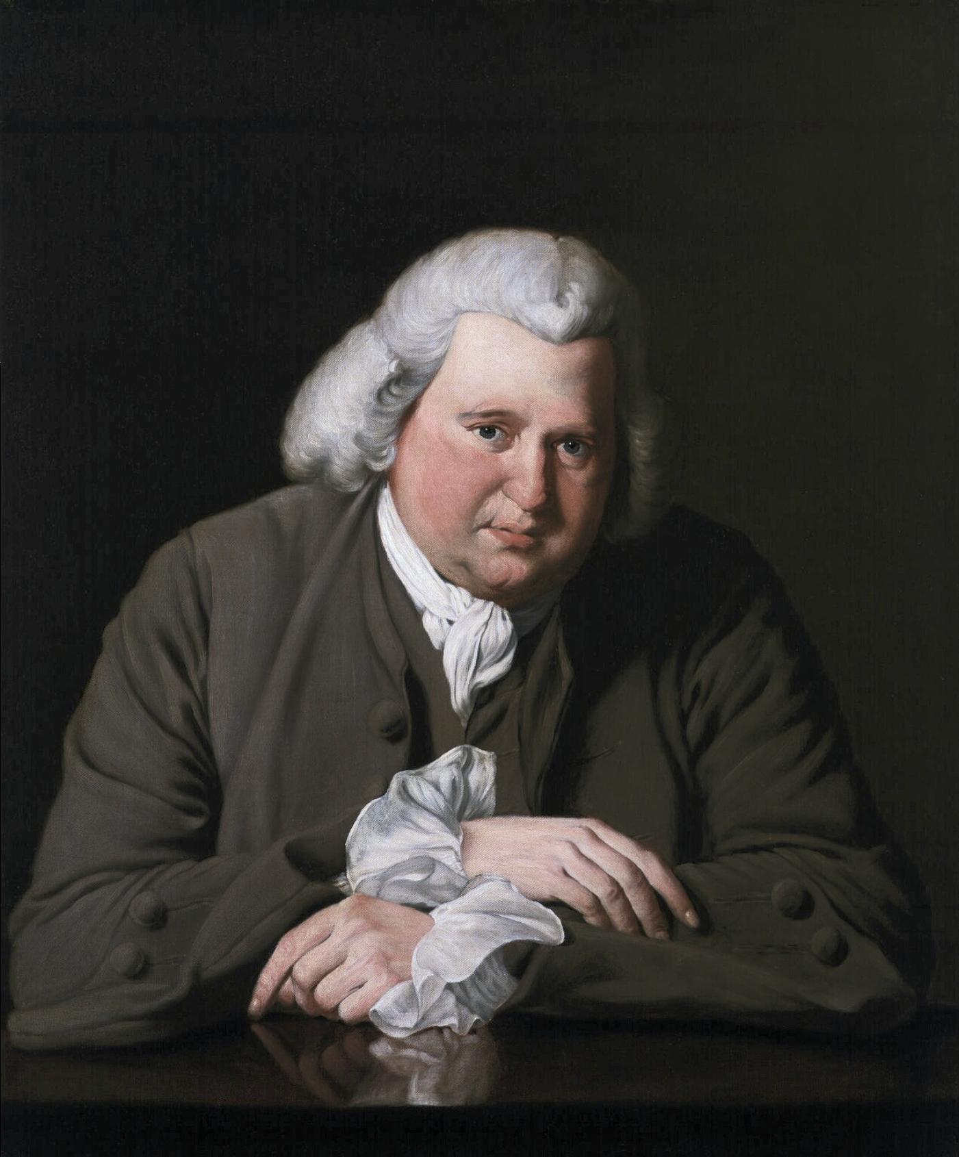 Erasmus Darwin, after Joseph Wright